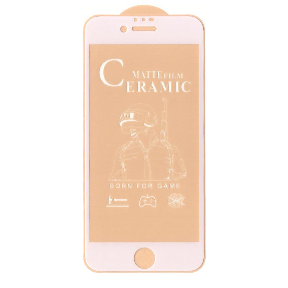 محافظ صفحه نمایش سرامیکیمدل GLA مناسب برای گوشی موبایل اپل Iphone 6 / 6S / 7 / 8 / SE 2020
