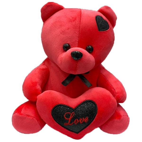 عروسک طرح خرس قلب بدست ارتفاع 27 سانتی متر