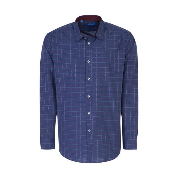 پیراهن مردانه سولا مدل SM420230030-BLUENAVY