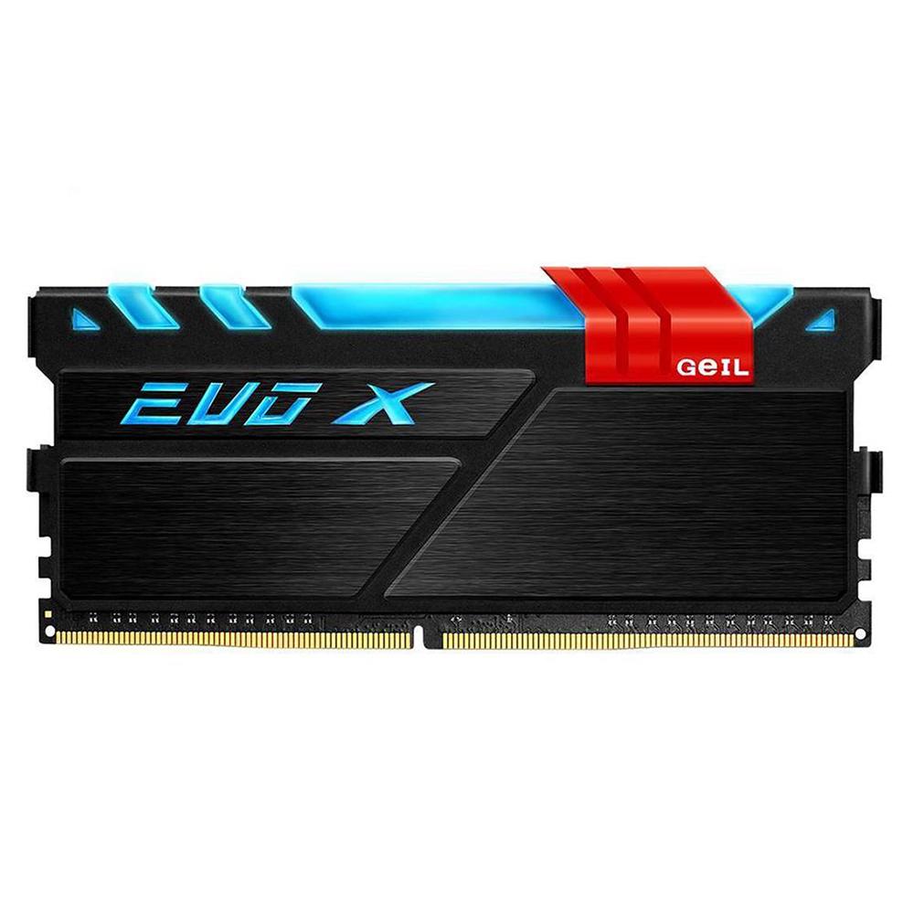 رم دسکتاپ DDR4 تک کاناله 2400 مگاهرتز CL16 گیل مدل Evo X ظرفیت 8 گیگابایت