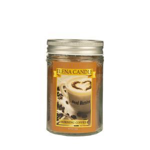 شمع لیوانی النا کندل مدل قهوه کد 200