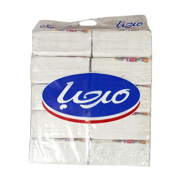 دستمال کاغذی 200 برگ مرحبا مدل 02 بسته 10 عددی