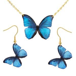 نیم ست زنانه ماه دخت طرح پروانه کد 179