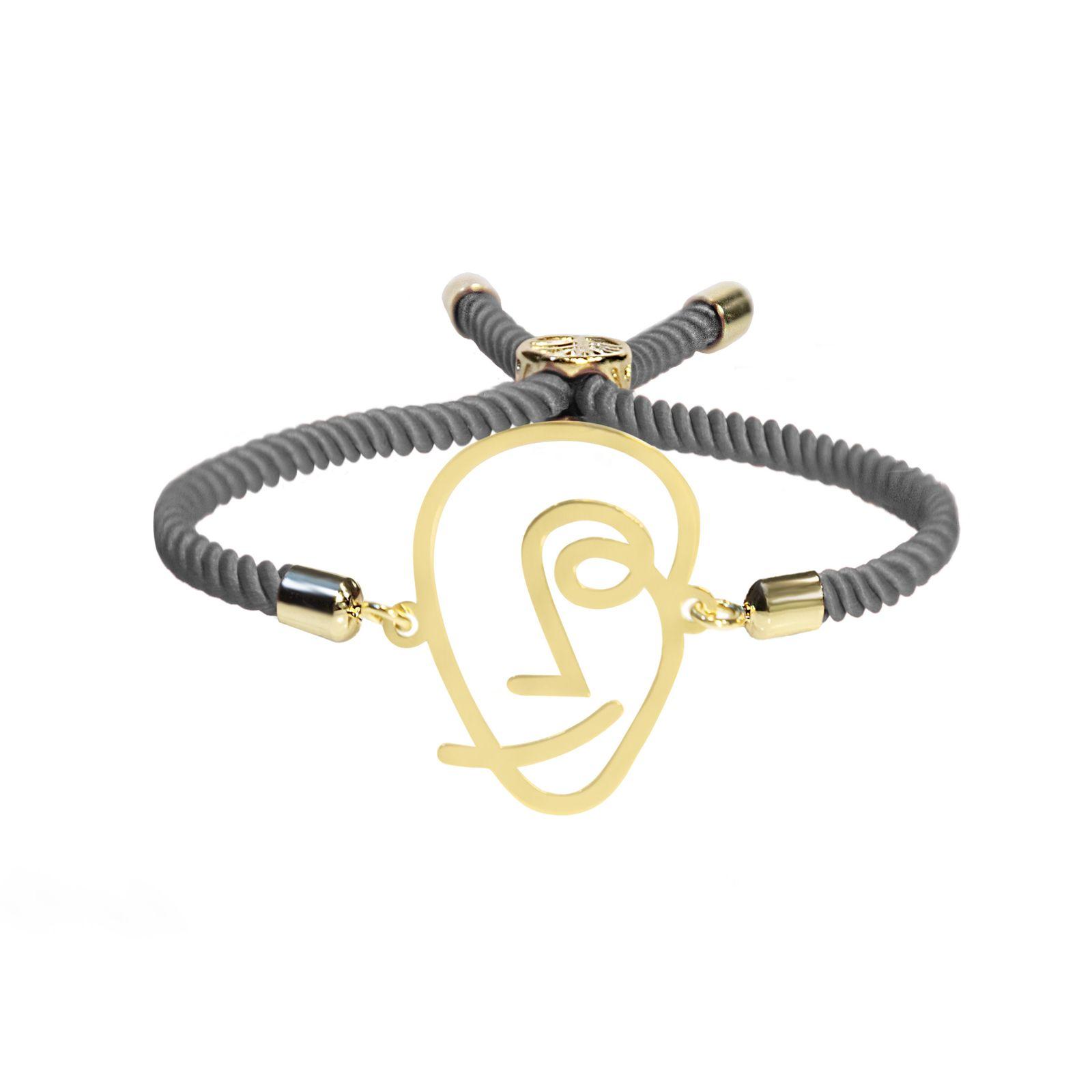 دستبند نقره زنانه آبستره مدل DSH-01 -  - 2