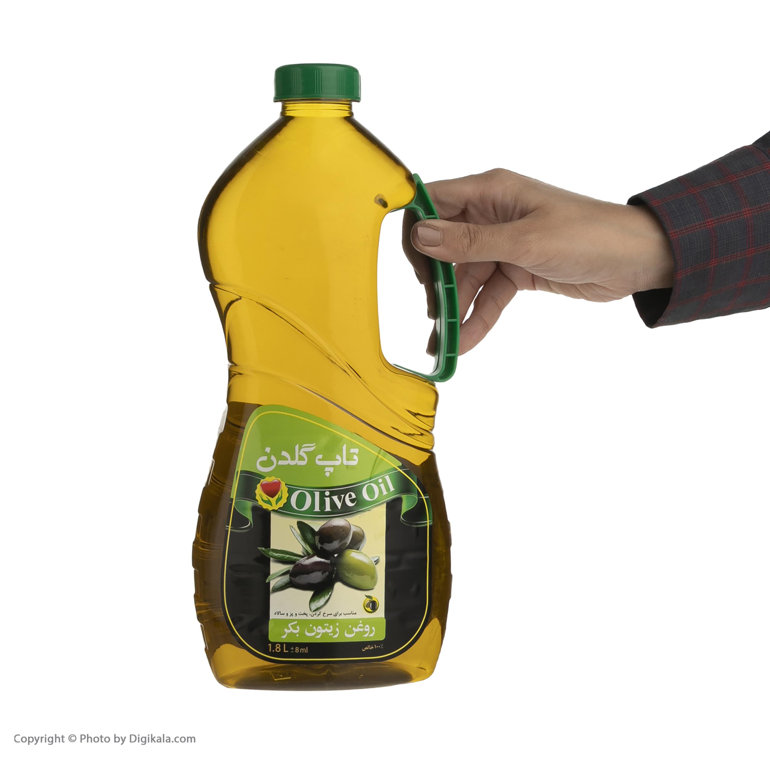 روغن زیتون بکر گلدن تاپ - 1.8 لیتر