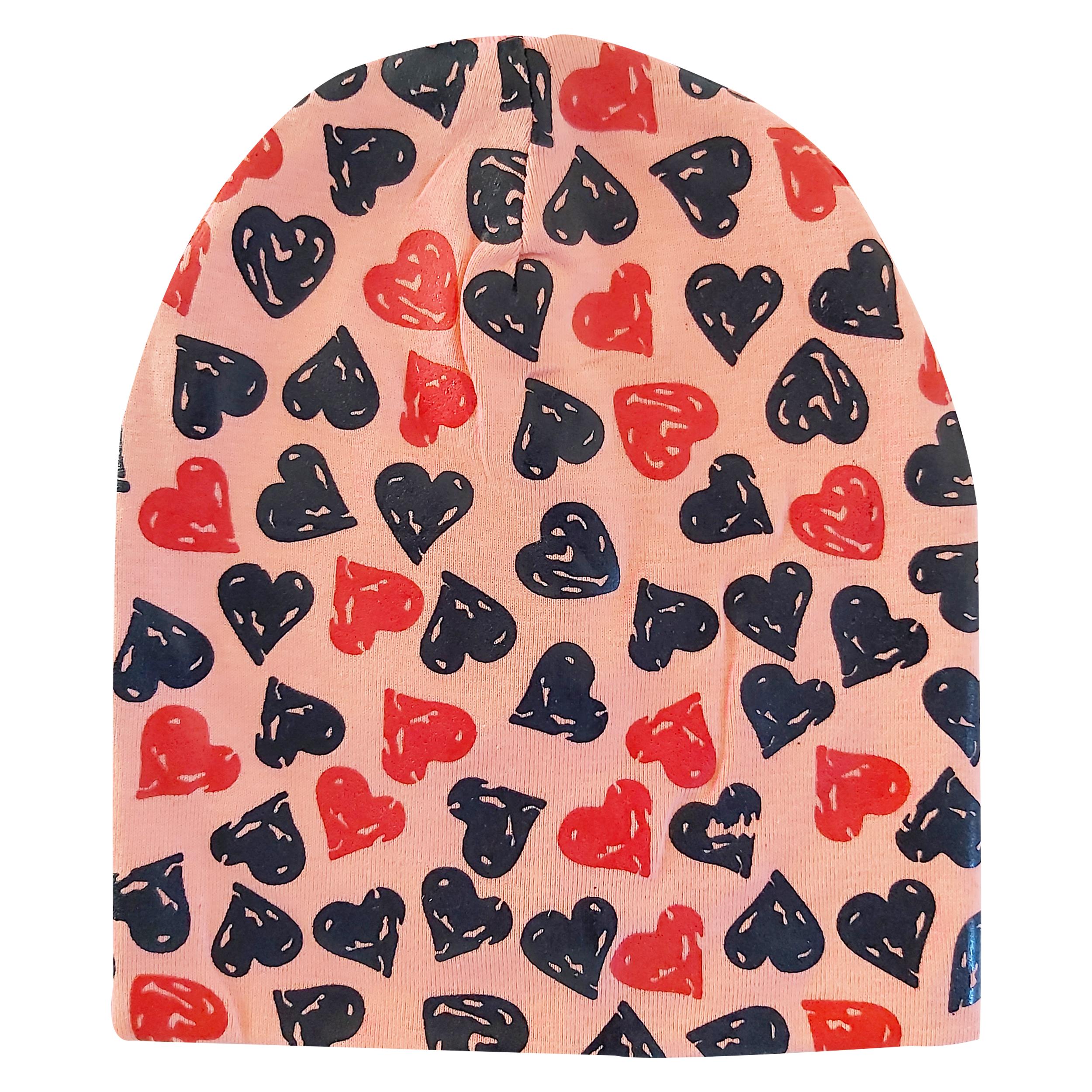 کلاه دخترانه مدل قلب کد ORP01 -  - 2