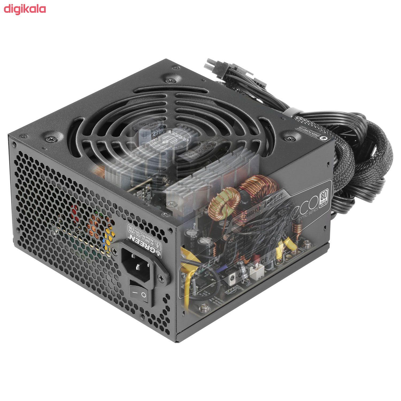 منبع تغذیه کامپیوتر گرین مدل GP450A-ECO Rev3.1 main 1 3