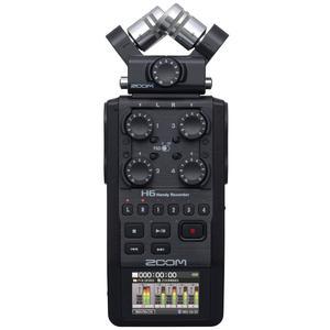 ضبط کننده حرفه ای صدا زوم مدل H6 Black