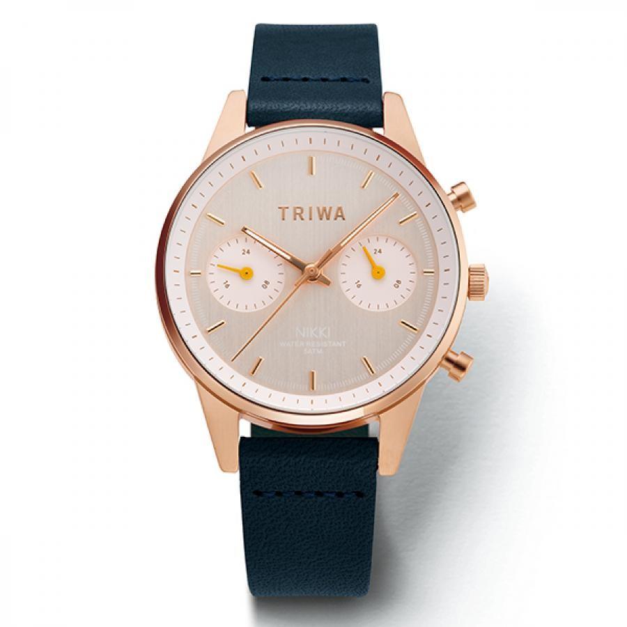 ست ساعت مچی عقربه ای زنانه و مردانه تریوا مدل Tic tac nikki
