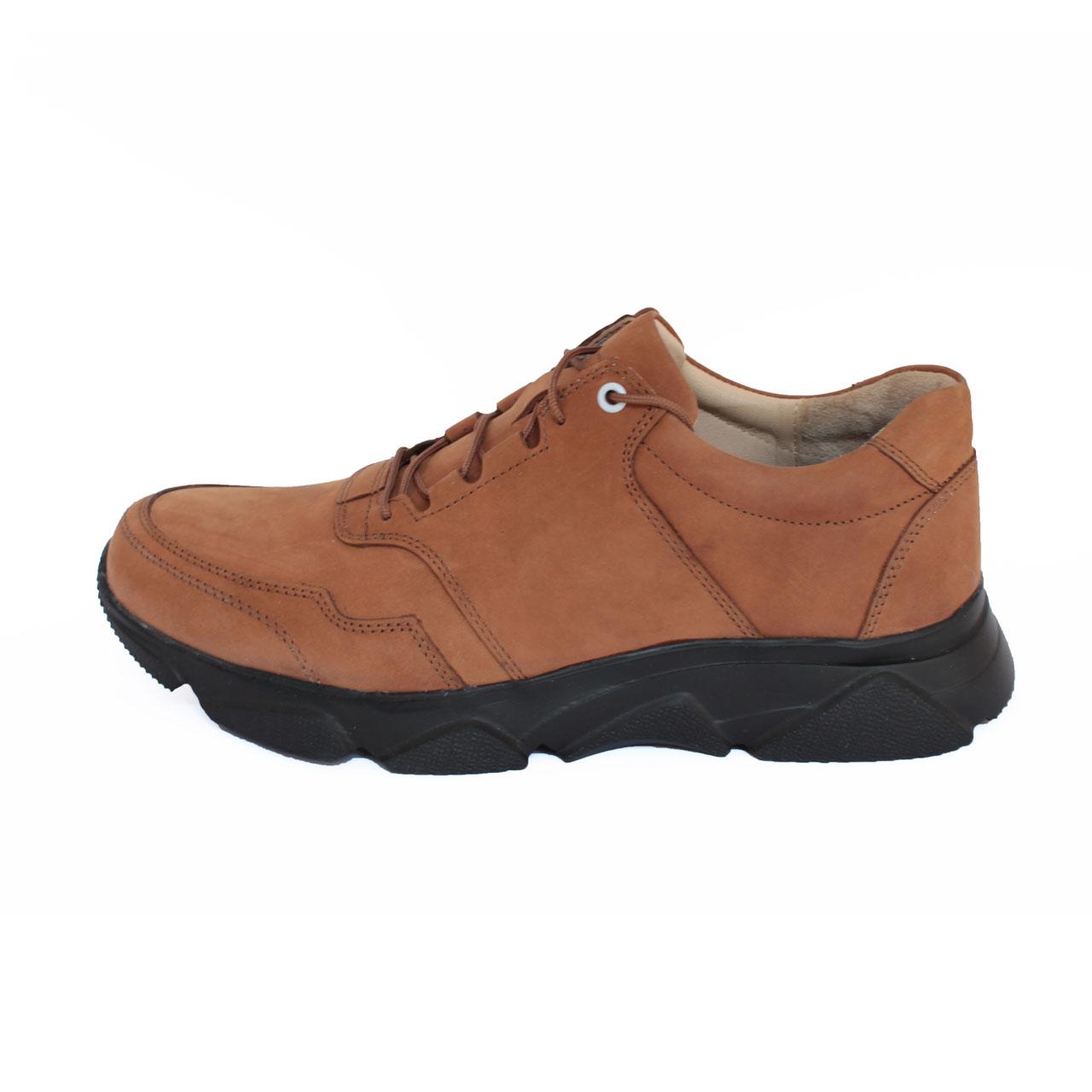 کفش روزمره مردانه ساینا چرم مدل M107