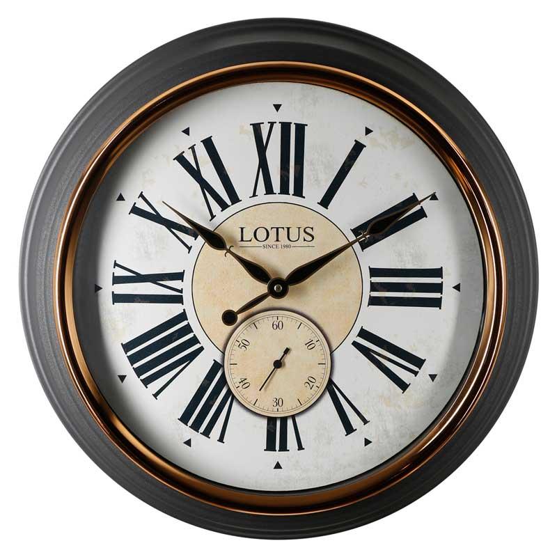 ساعت دیواری لوتوس کد 3022