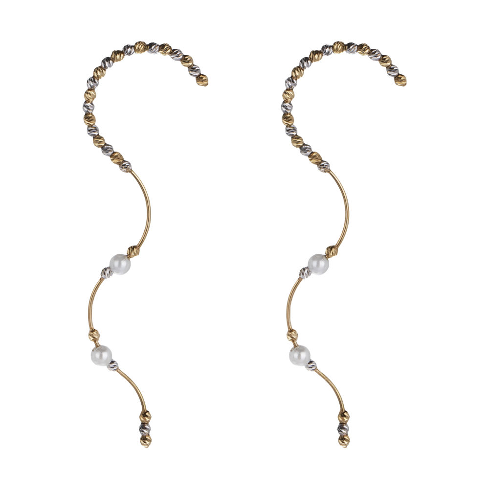 گوشواره طلا 18 عیار زنانه سیودو مدل 146436