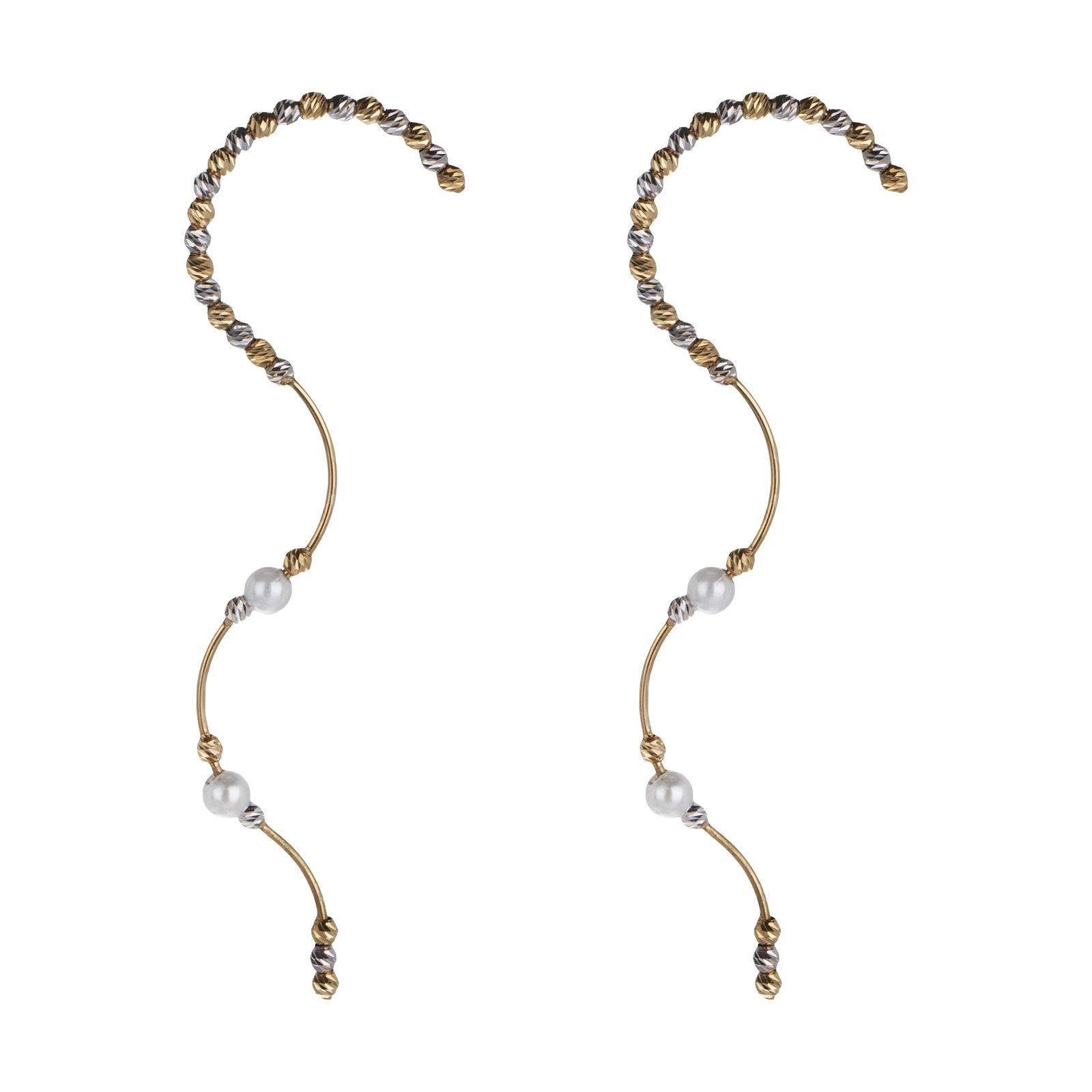 گوشواره طلا 18 عیار زنانه سیودو مدل 146436 -  - 2