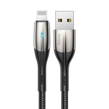 کابل تبدیل USB به لایتنینگ باسئوس مدل HORIZONTAL-CALSP-B1 طول 1 متر