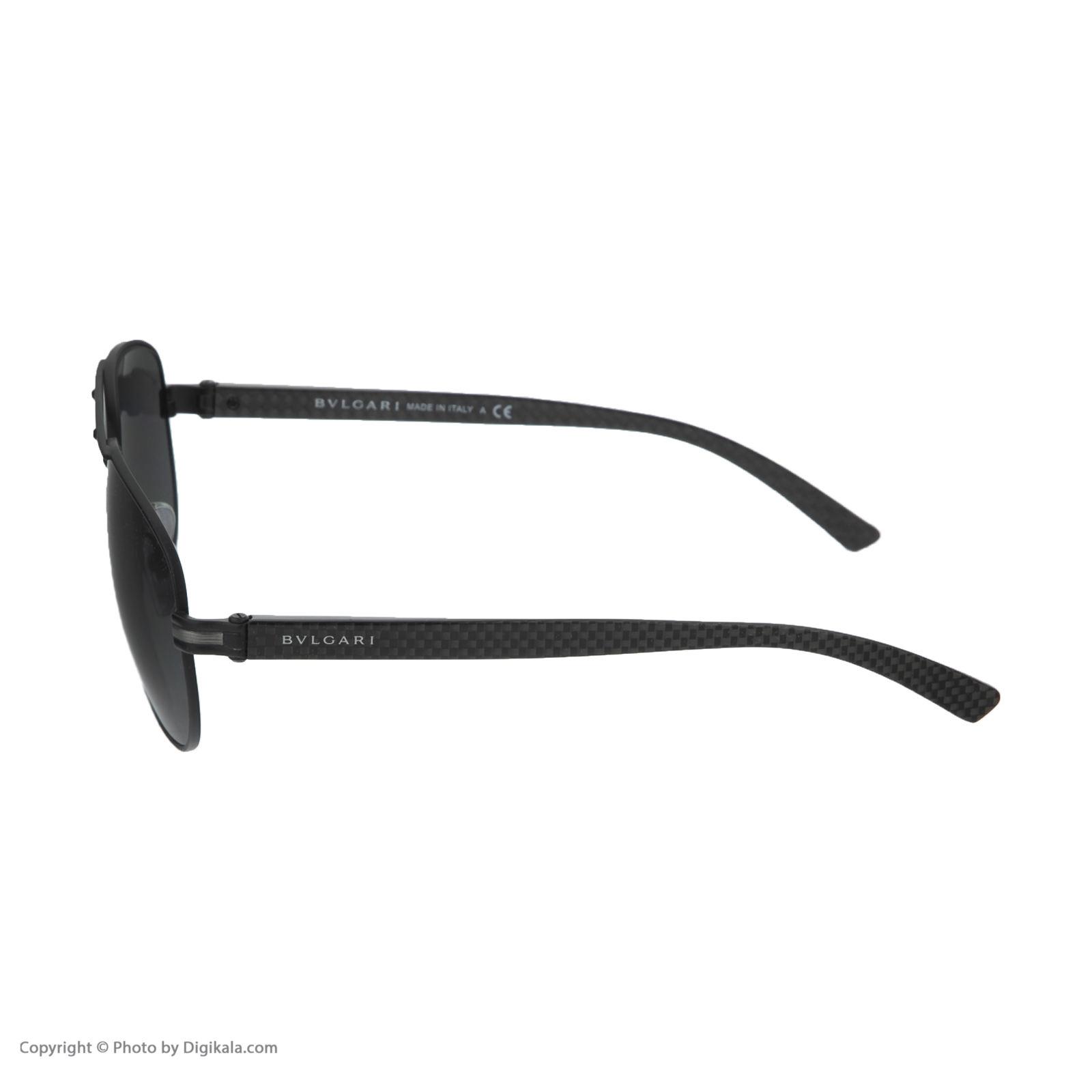 عینک آفتابی مردانه بولگاری مدل BV5033S 12887 -  - 6