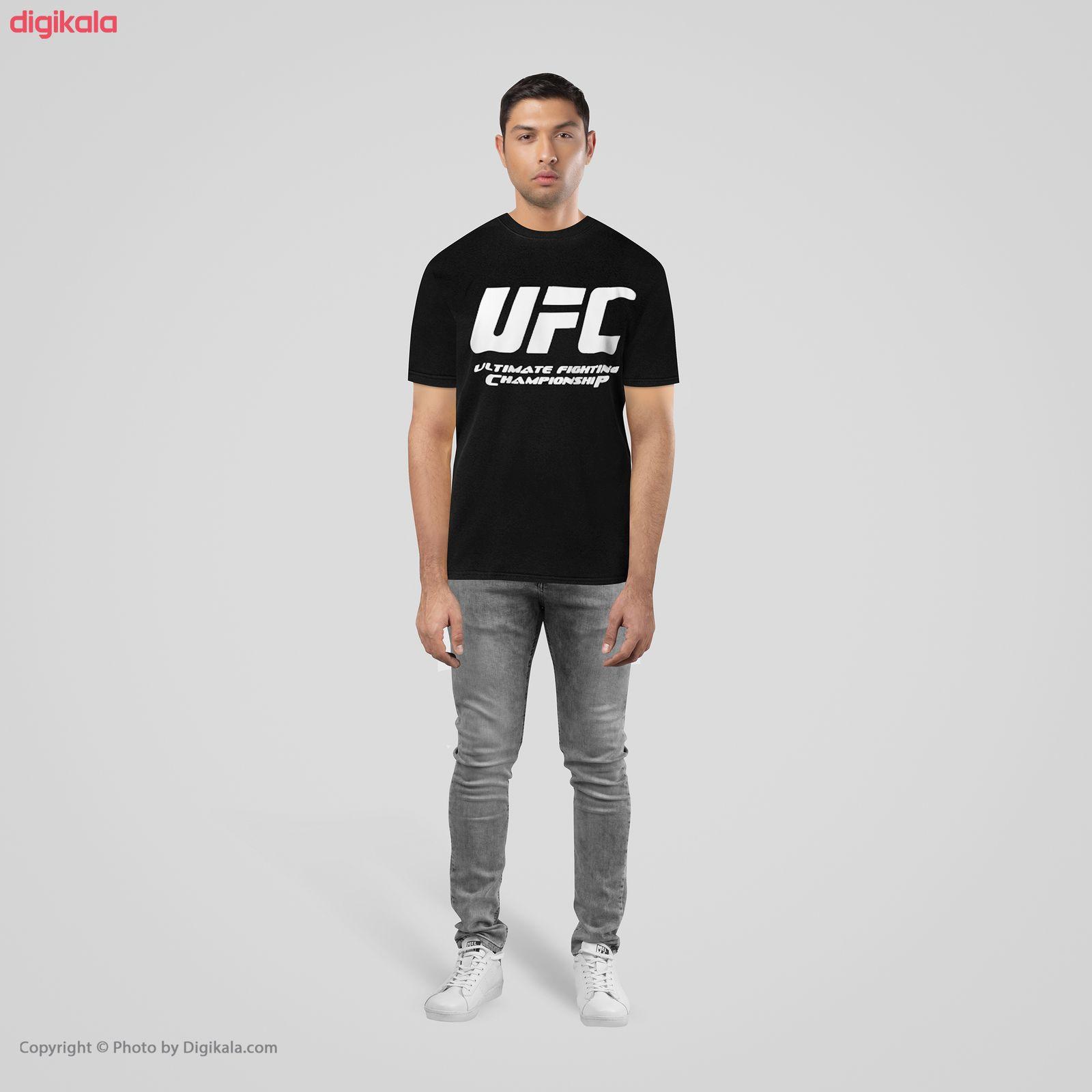 تیشرت مردانه طرح UFC مدل BW13304 main 1 1