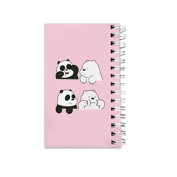 دفترچه یادداشت مدل to do list طرح خرس و پاندا کد 3720670