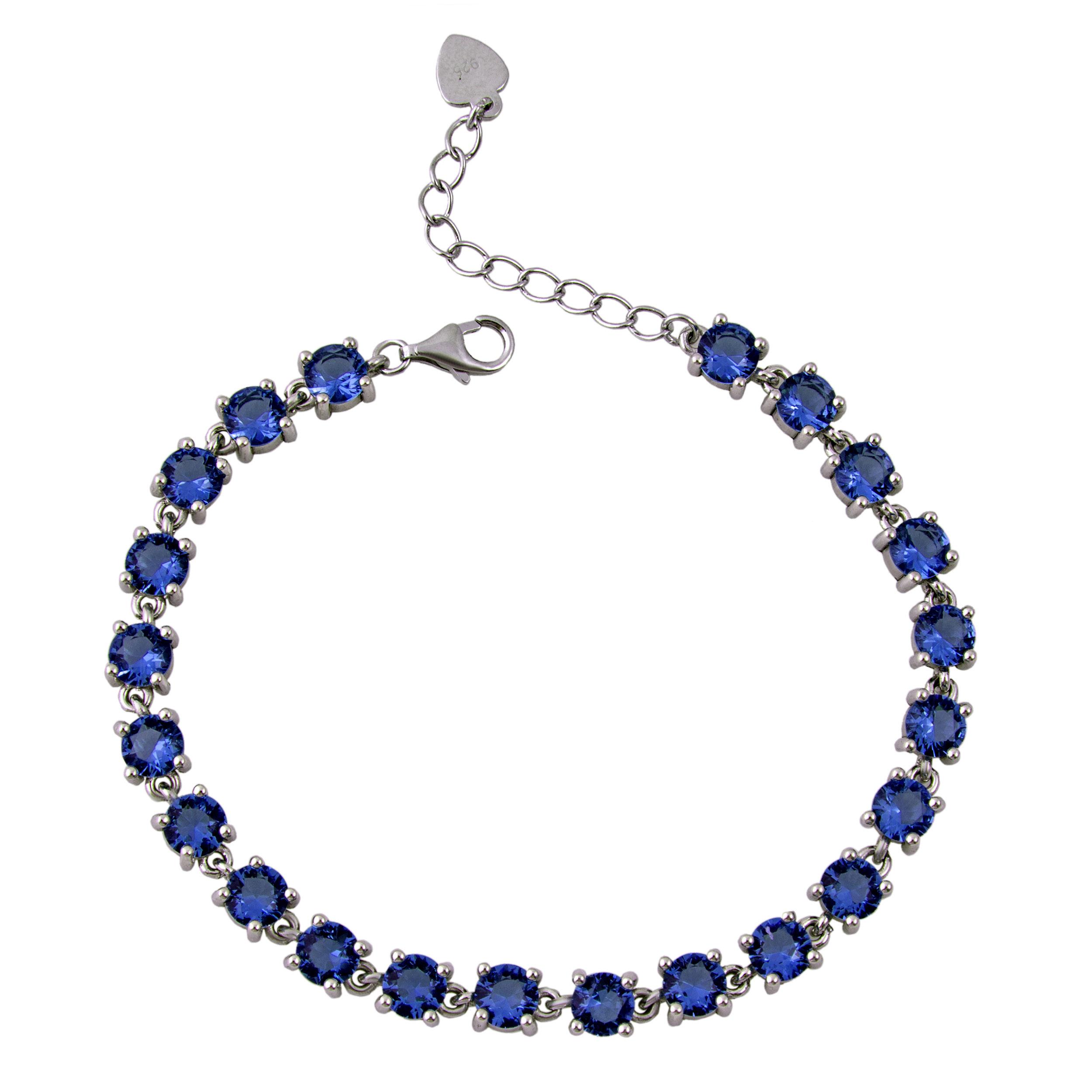 دستبند نقره زنانه بازرگانی میلادی کد DP_026