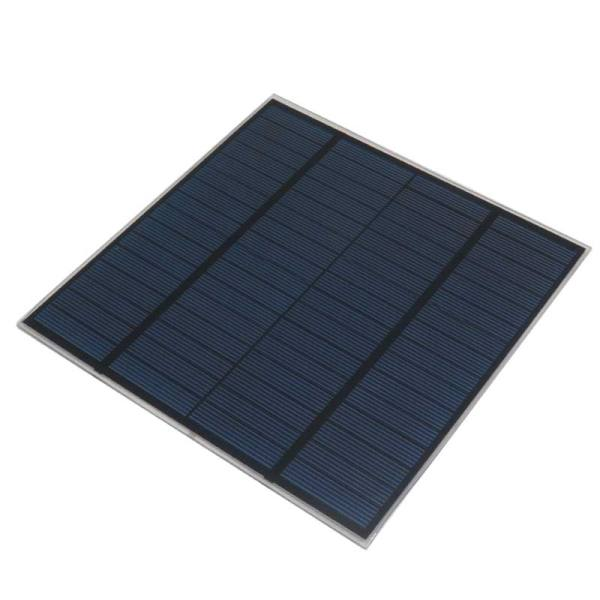 پنل خورشیدی مدل 18V ظرفیت 2 وات