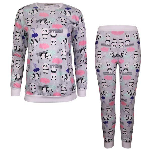 ست تی شرت و شلوار زنانه ماییلدا مدل 3587-1