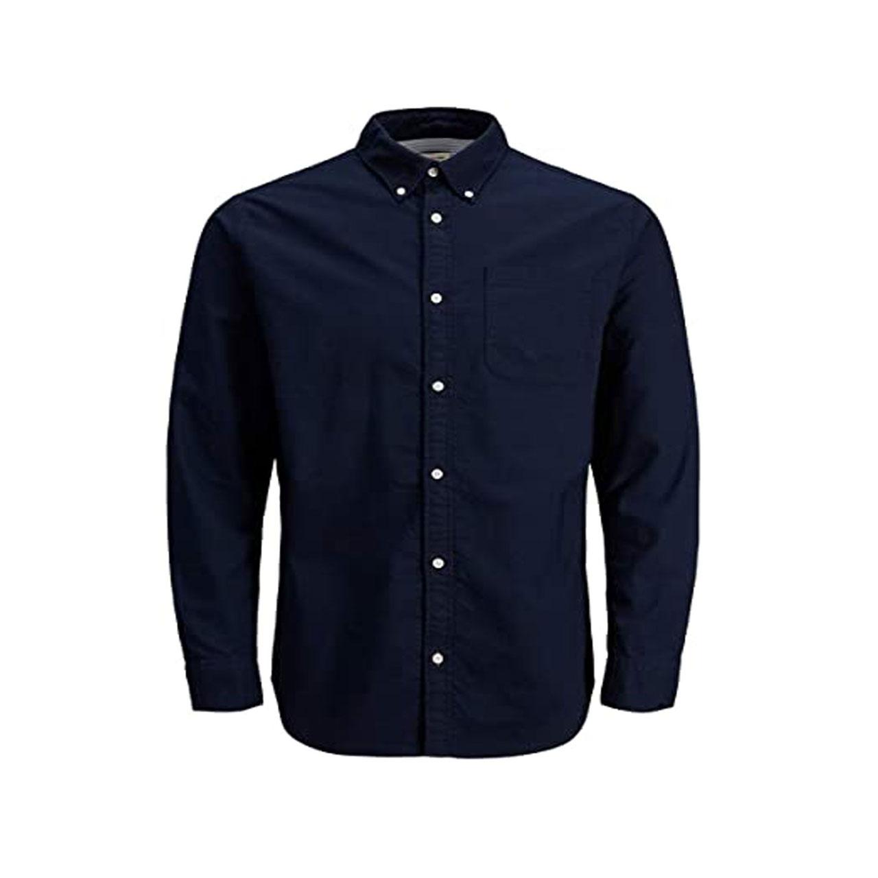 پیراهن آستین بلند مردانه جک اند جونز مدل f70026