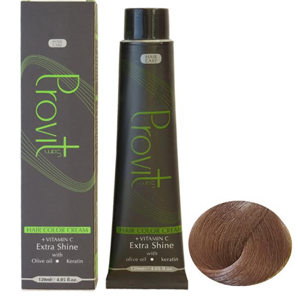 رنگ مو پرویت سری خاکستری شماره 5/1 حجم 120 میلی لیتر رنگ قهوه ای خاکستری روشن