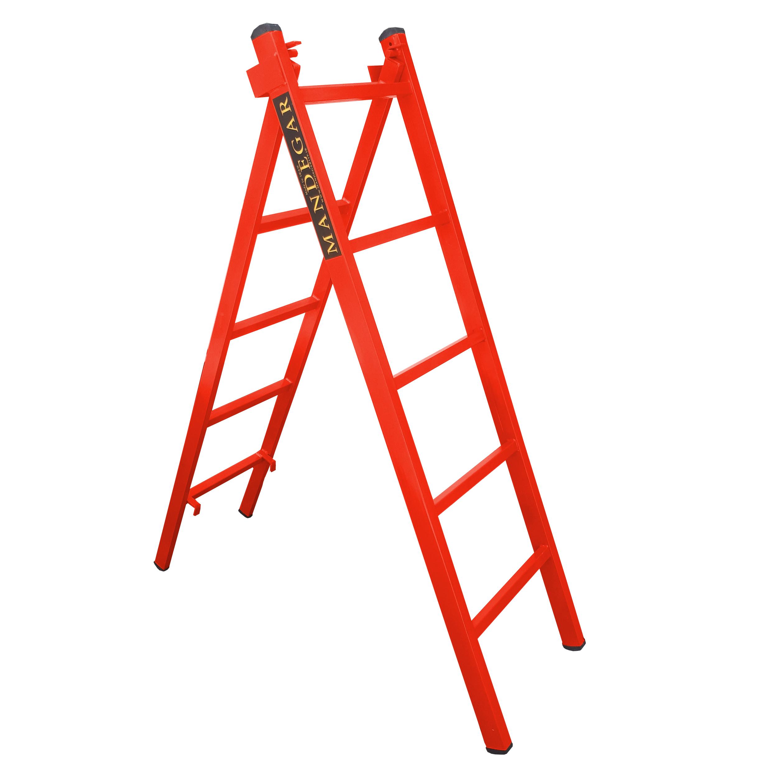 نردبان 10 پله ماندگار مدل صدف