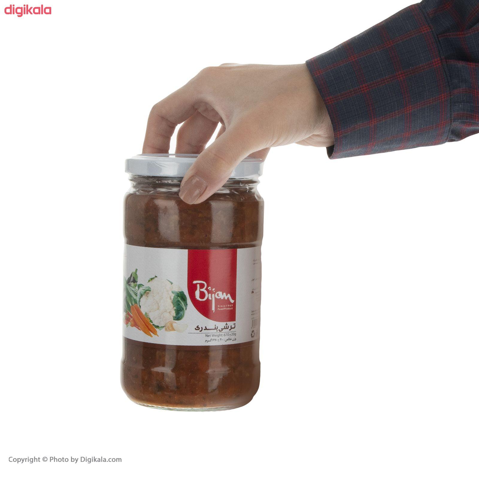 ترشی بندری بیژن - 670 گرم main 1 3