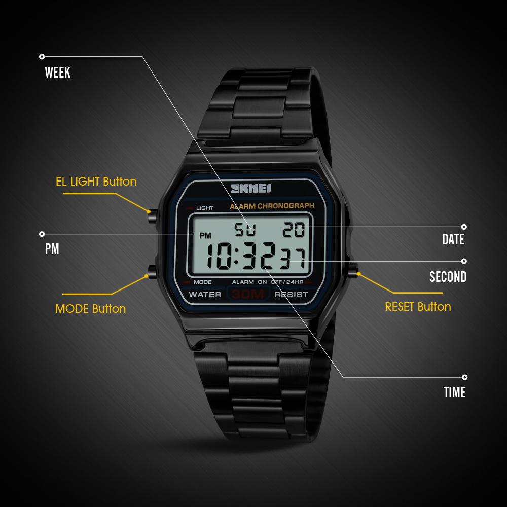 ساعت مچی دیجیتال اسکمی مدل 1123 کد 01