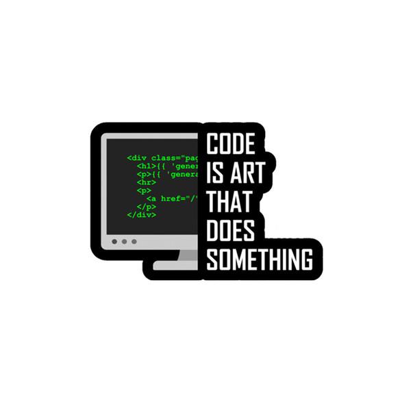 استیکر لپ تاپ لولو طرح برنامه نویسی کد 213