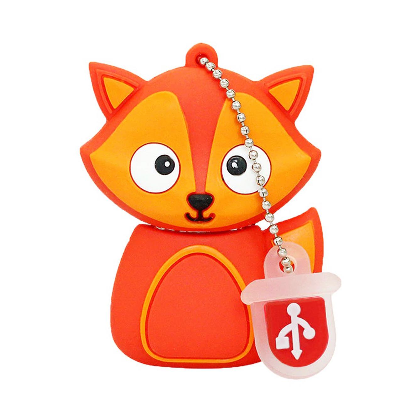 بررسی و {خرید با تخفیف} فلش مموری طرح روباه مدل Ul-Fox01 ظرفیت 128 گیگابایت اصل