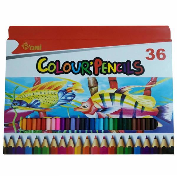 مداد رنگی 36 رنگ پانی کد 7036
