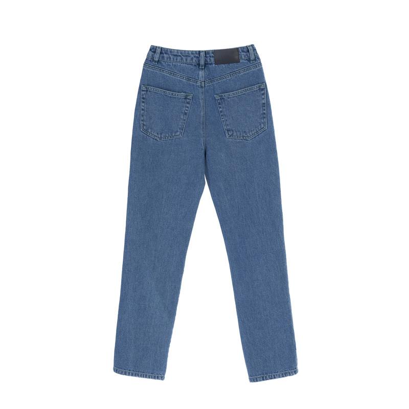 شلوار جین زنانه کوی مدل 137 رنگ تیره آبی