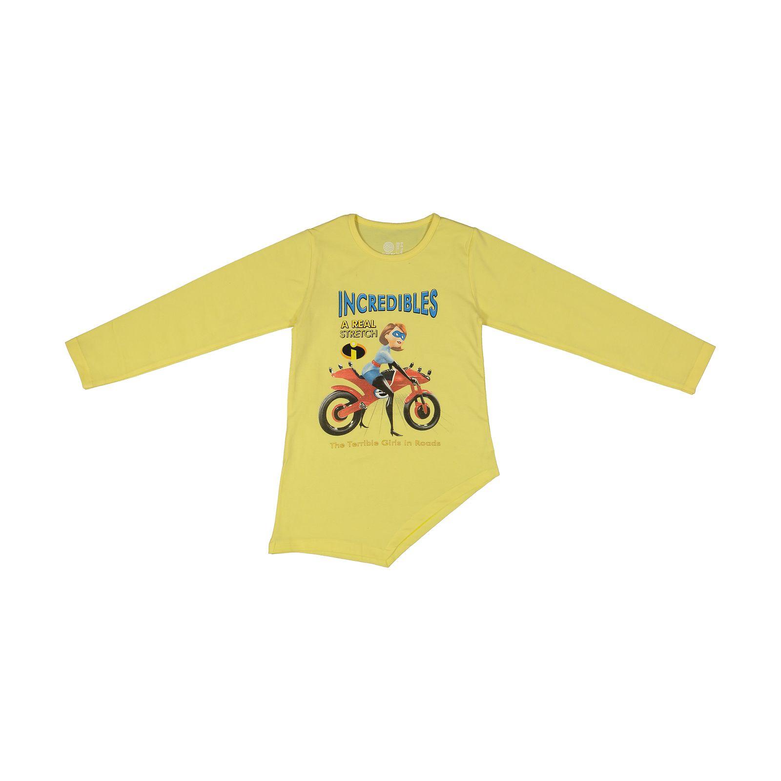 تی شرت دخترانه سون پون مدل 1391351-19 -  - 2