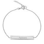 دستبند نقره زنانه ترمه ۱ مدل پریدخت کد DN 4007