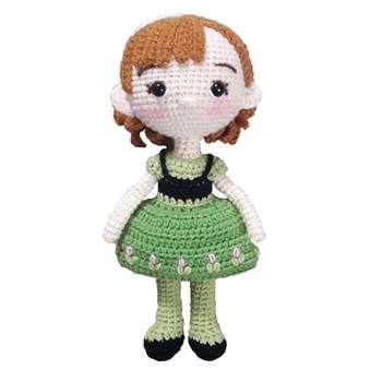 عروسک بافتنی طرح آنا