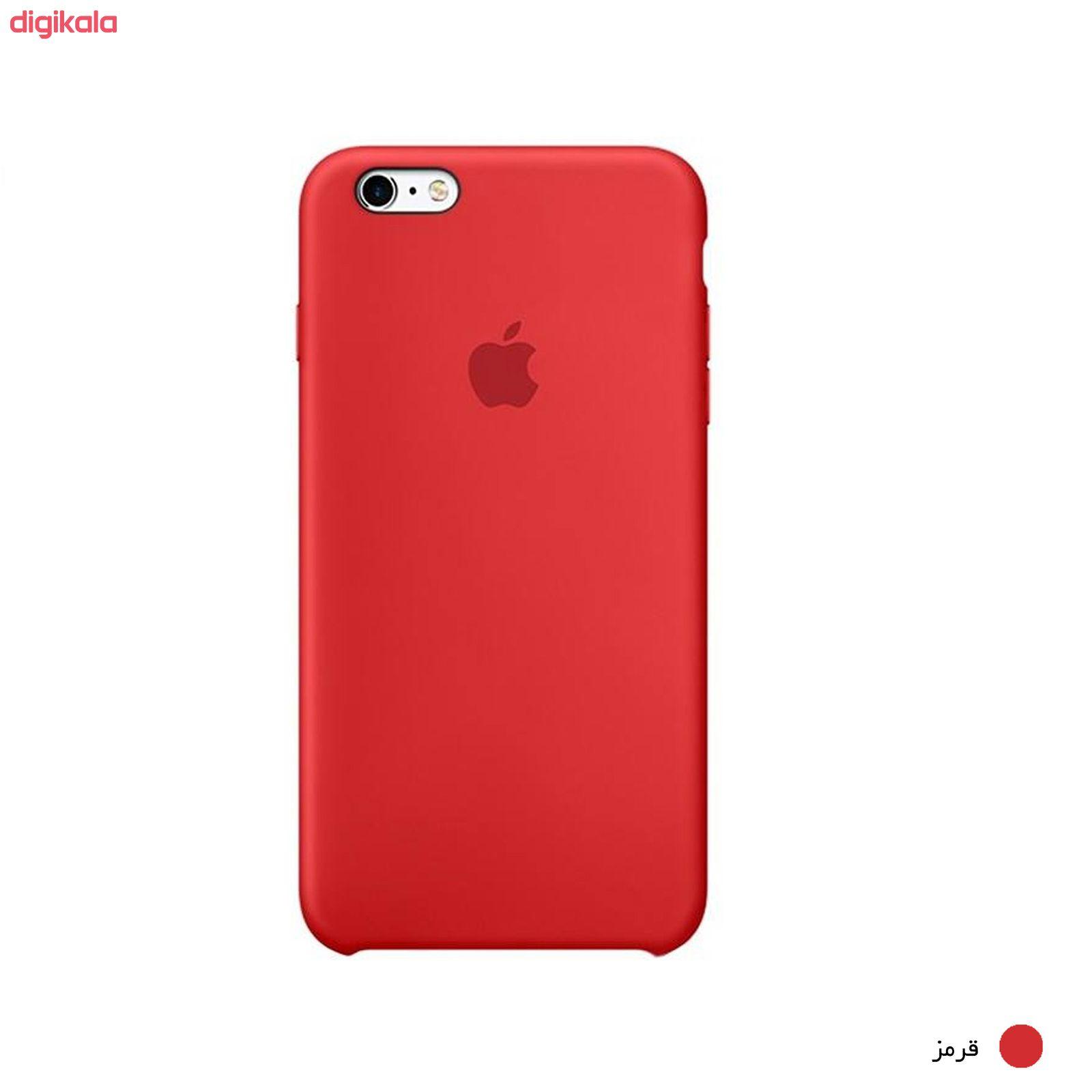 کاور سیلیکونی مناسب برای گوشی موبایل آیفون 6 پلاس/6s پلاس main 1 26