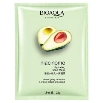 ماسک صورت بایو آکوا مدل آووکادو وزن 25 گرم