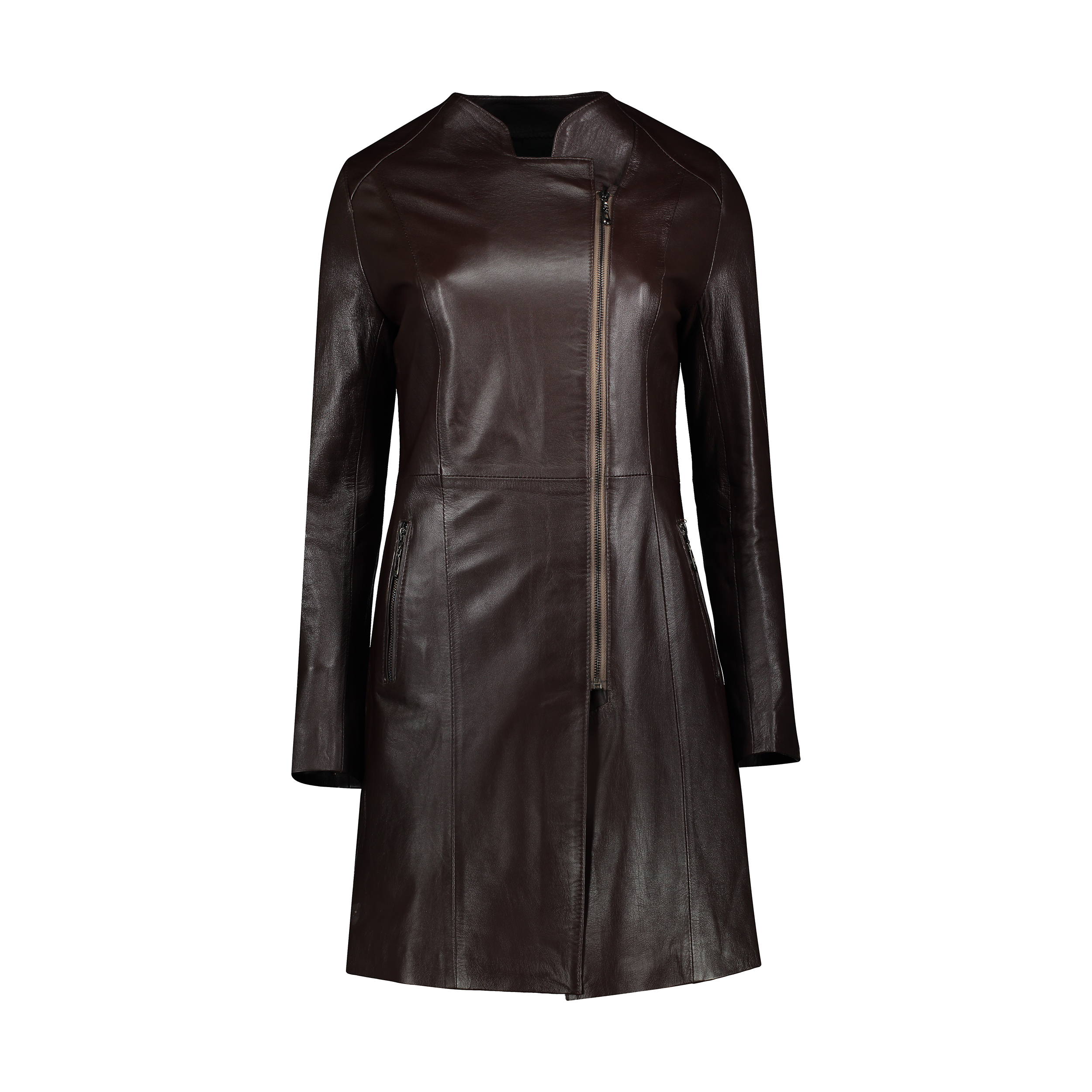 کت چرم زنانه شیفر مدل 2701S-02