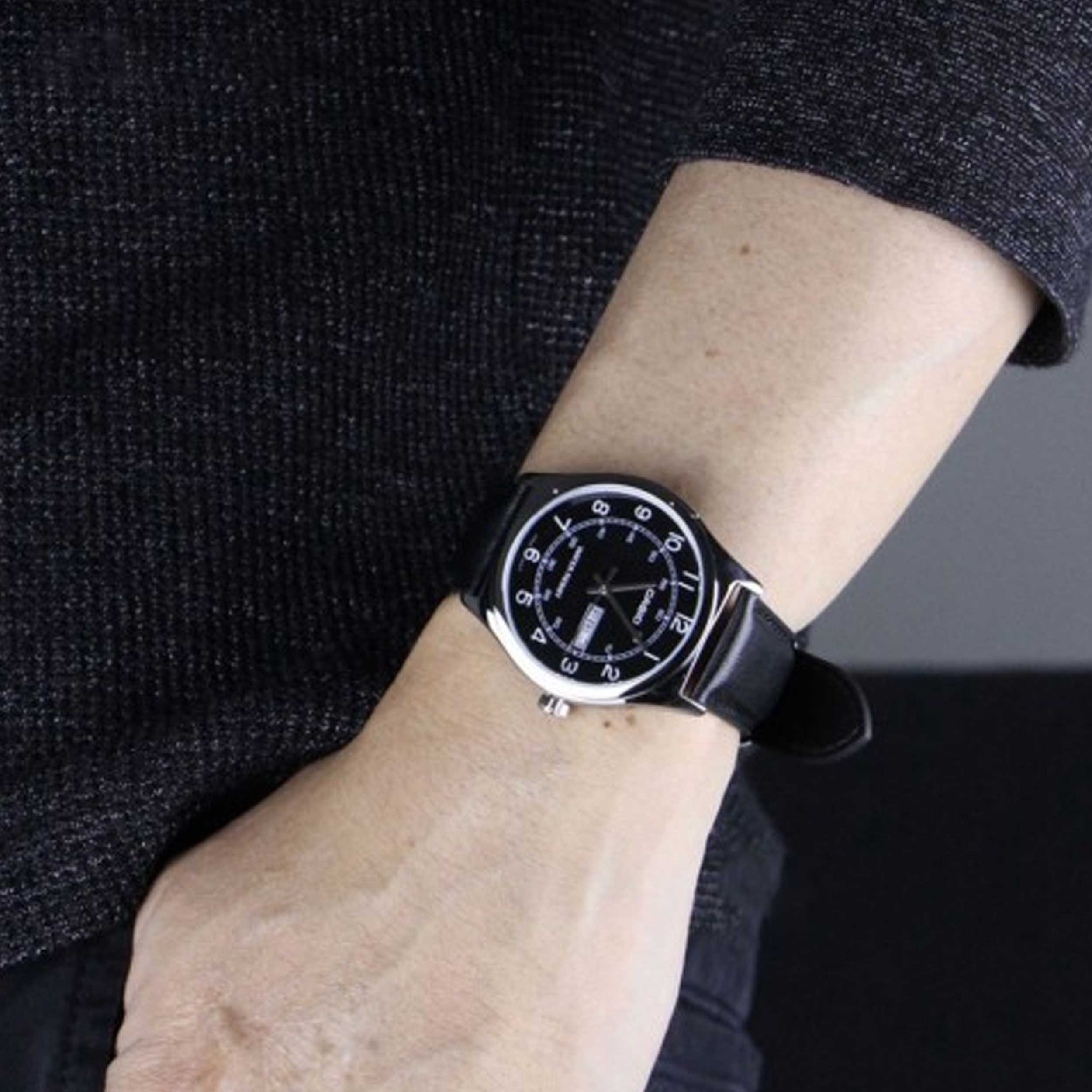 ساعت مچی عقربهای مردانه کاسیو مدل MTP-V006L-1B2UDF