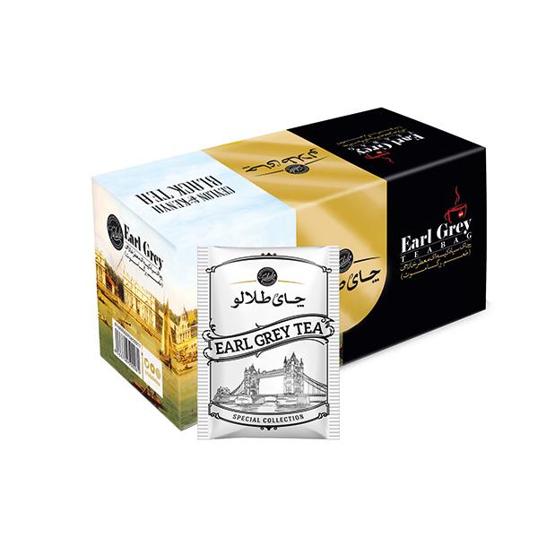 چای کیسه ای عطری صنایع غذایی طلالو بسته 25 عددی
