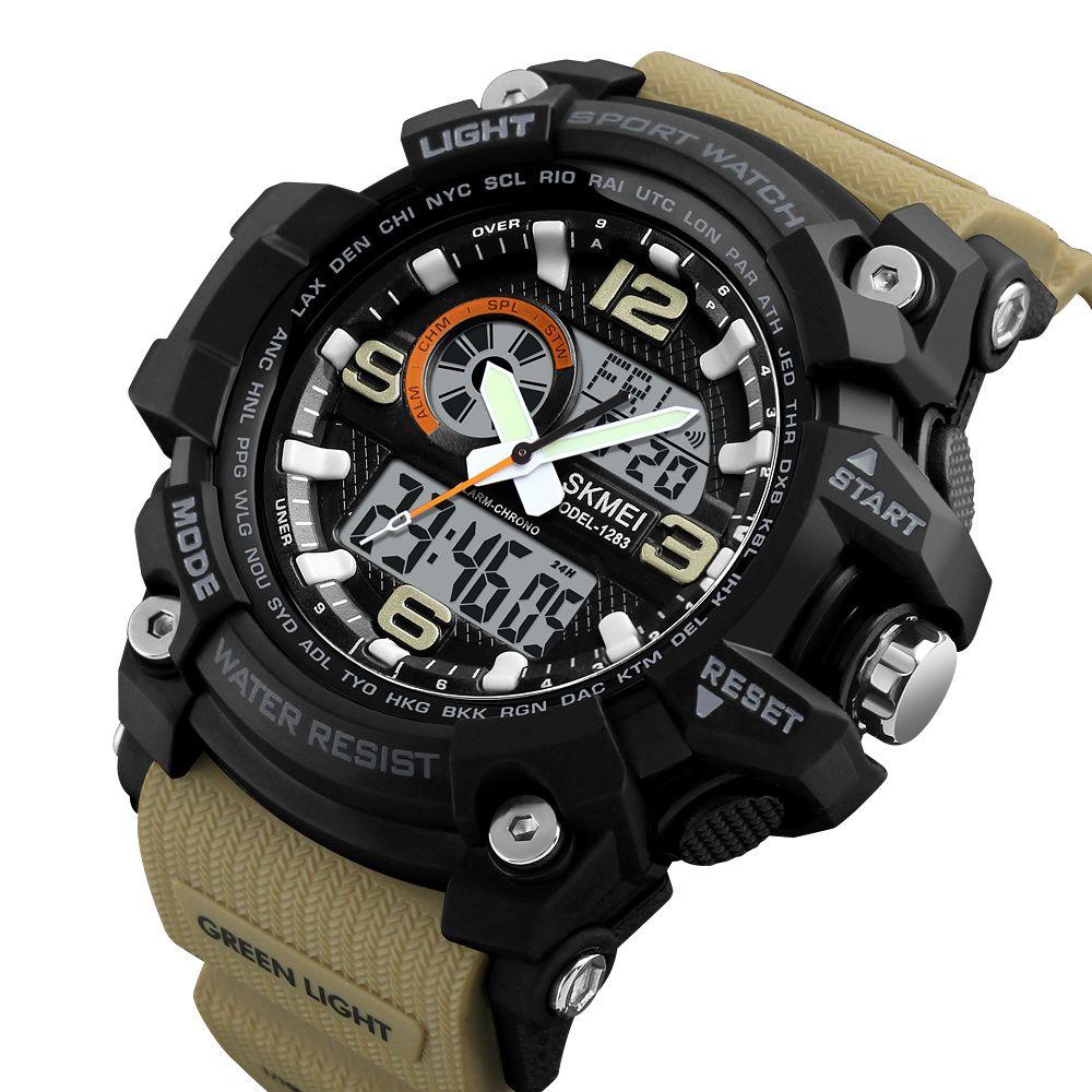 ساعت مچی عقربه ای مردانه اسکمی مدل 1283KH-NP -  - 3
