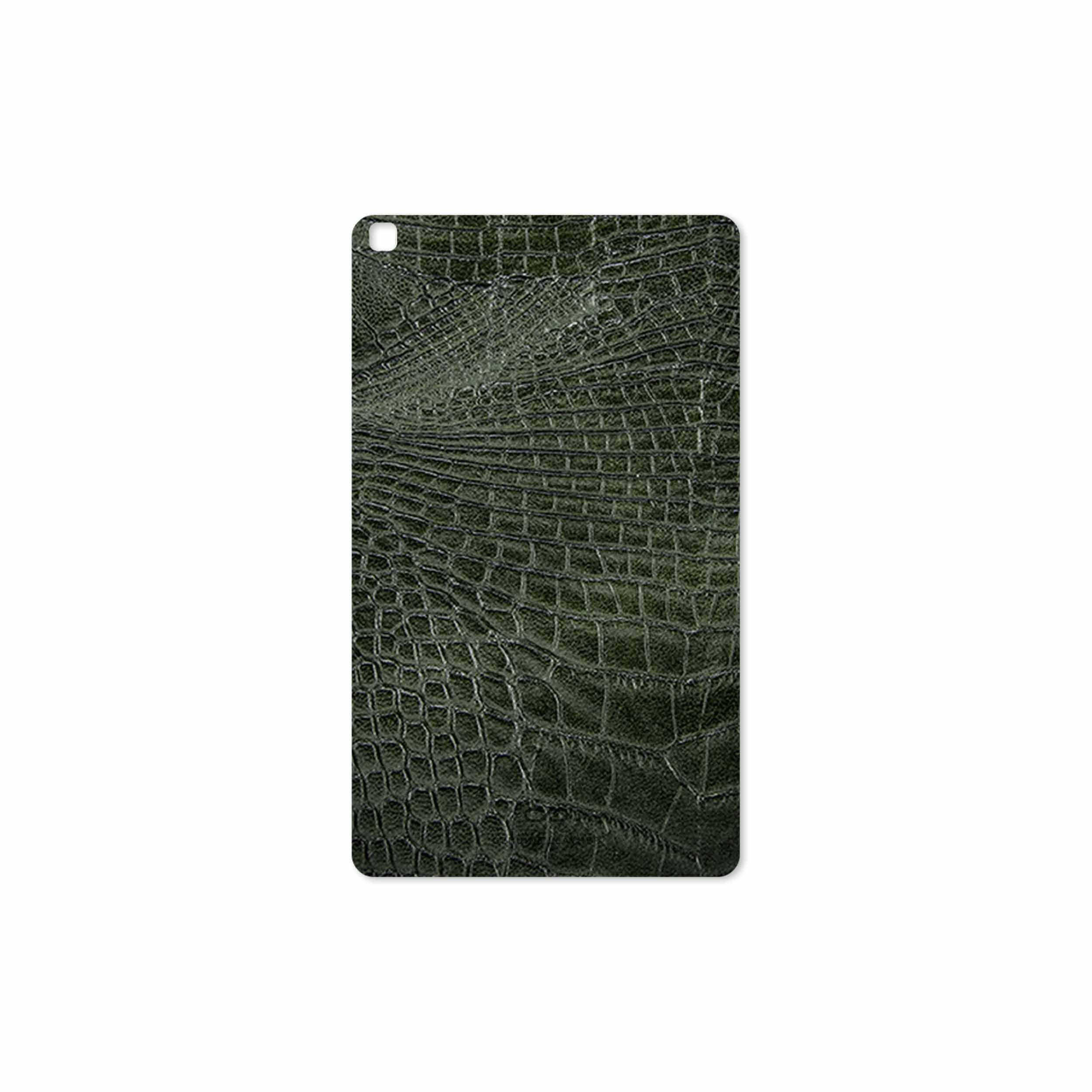 بررسی و خرید [با تخفیف]                                     برچسب پوششی ماهوت مدل Green-Crocodile-Leather مناسب برای تبلت سامسونگ Galaxy Tab A 8.0 2019 T290                             اورجینال