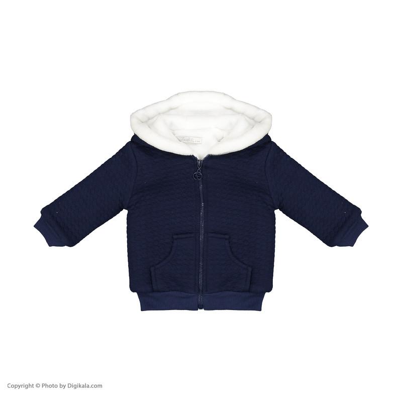 ست 3 تکه لباس نوزادی پسرانه فیورلا مدل 20501