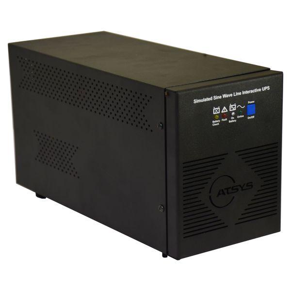 یو پی اس اتسیس مدل U51.5IETLBAB6-7 ظرفیت 1500 ولت امپر به همراه باطری داخلی