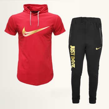 ست تی شرت و شلوار ورزشی مردانه مدل 912024