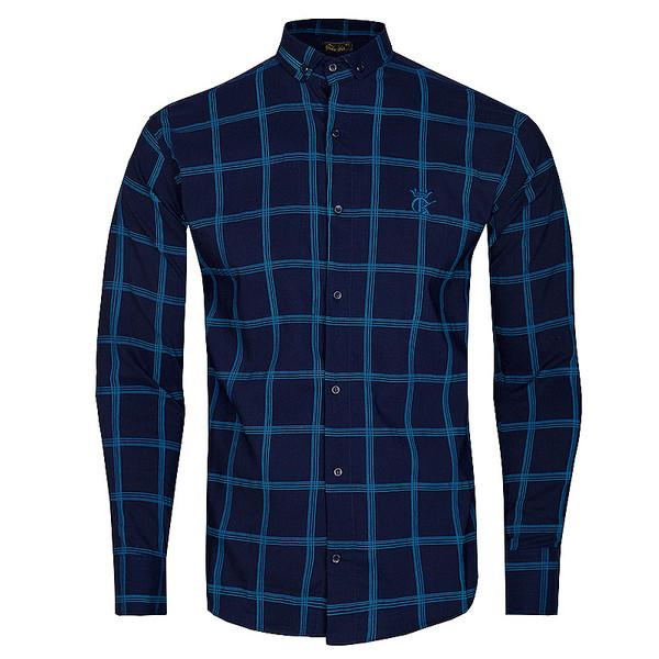 پیراهن آستین بلند  مردانه مدل 344004614