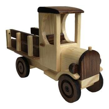 اسباب بازی چوبی مدل کامیون کلاسیک کدNTC1