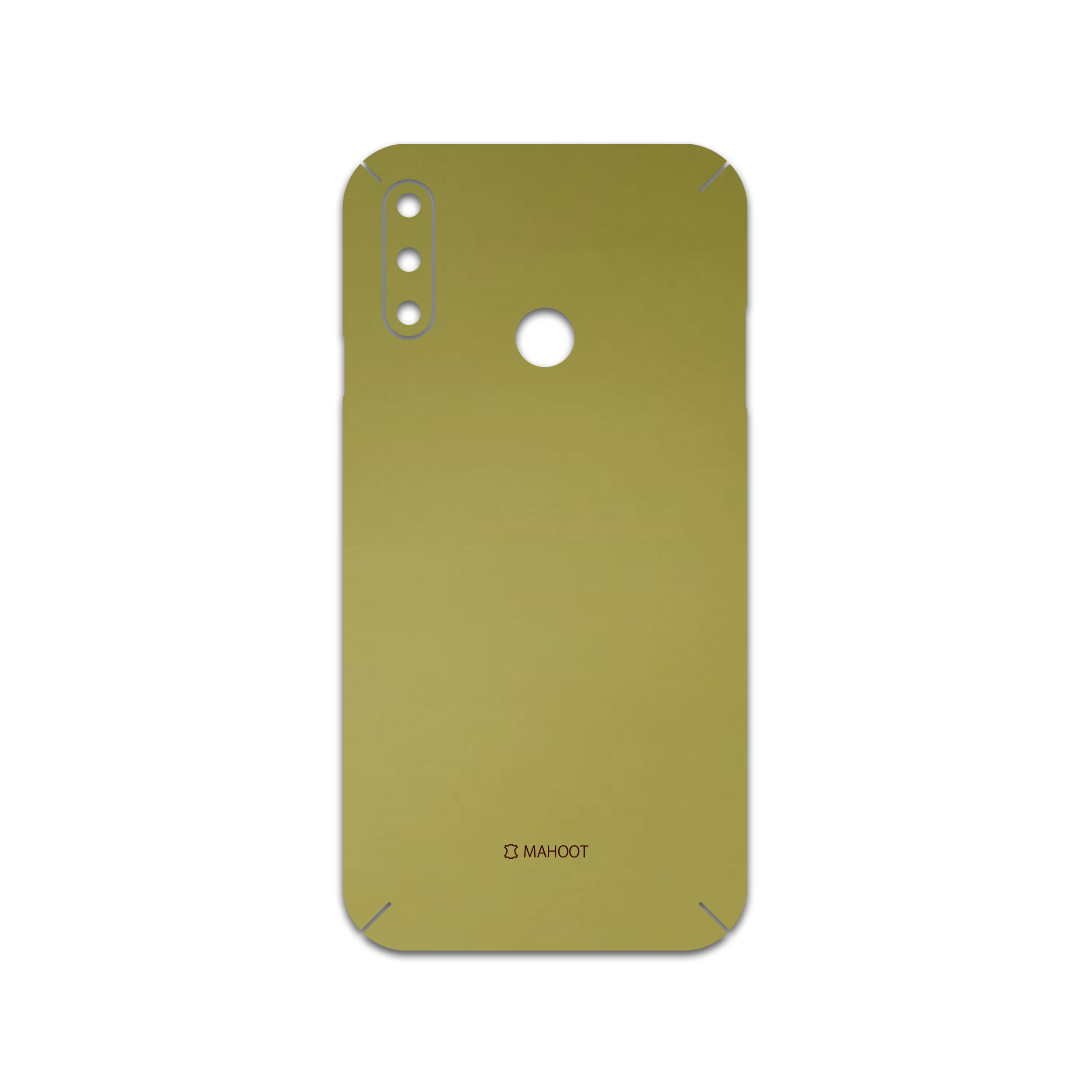 برچسب پوششی ماهوت مدل  Matte-Gold  مناسب برای گوشی موبایل ال جی W10