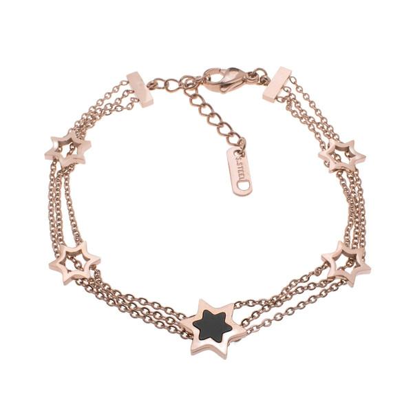 دستبند زنانه استینلس استیل مدل BDZ1022